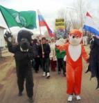 Участники Акции из Волжского детского экологического центра, г. Волжск Республики Марий Эл