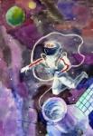 Рисунок нарисовал Голубых Вит из Пензенской области
