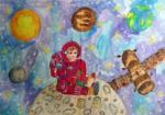 Рисунок Исраиловой Эльвины, Узбекистан
