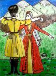 Так танцуют на Кавказе