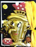 """Тульский самовар - поделка прислана на конкурс детского форума """"Зелёная планета"""""""