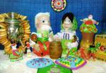 «Дружная семейка» - поделка Колмаковой Дианы из города Томска