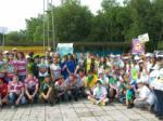Участники Пятого Амурского областного слёта юных экологов