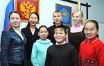 Дети Тувы в Москве
