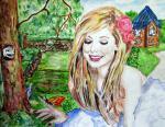 """Конкурсная работа из Чувашии Международного конкурса рисунков """"Зелёная планета глазами детей"""""""
