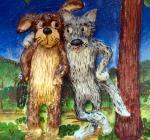 Жил был пёс, рисунок Леонида Гарельского, Камчатский край