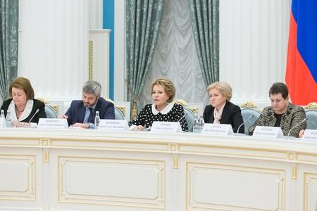 Председатель Совета Федерации Валентина Матвиенко провела заседание Координационного совета при Президенте РФ