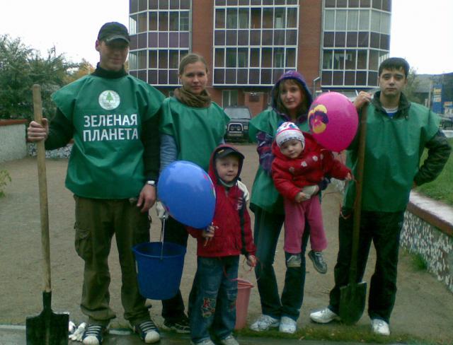 """Участники движения """"Зелёная планета"""" в Новосибирске хорошо известны жителям города своими массовыми экологическими акциями"""