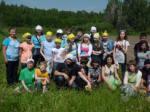 Команда учащихся школ № 41 и № 80 Вахитовского района Казани, юные активисты «Школьного лесничества» города Булгары