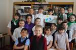 Ребята из школьной детско-юношеской организации «СемьЯ» МБОУ ООШ №1 Содружества «Я-МАЛ»