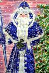 Дед Мороз. Рисунок Гатауллиной Индиры. 12 лет