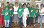 Выставка рисунков Зелёной планеты в Кремле!