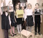 Вот такие кормушки для птиц и мелких зверушек изготовили ребята из города Ноябрьска, фото О. Комакина