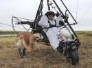 Владимир Путин в роли папы для этого маленького стерха. Фото: РИА Новости